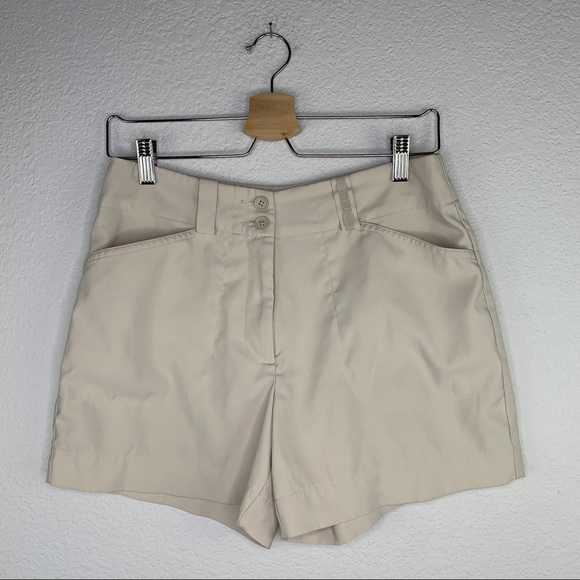 Nike Gold Fit Dry Women's Shorts in Cream Sz 4